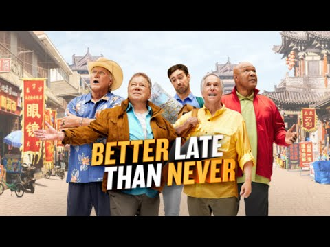 Review: 'Better Late than Never' hits the road with senior stars
