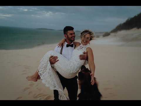 Rainbow Beach - Wedding Video (4K)