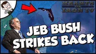 Jeb Bush Strikes Back Hearts of Iron 4 hoi Jeb States Mod