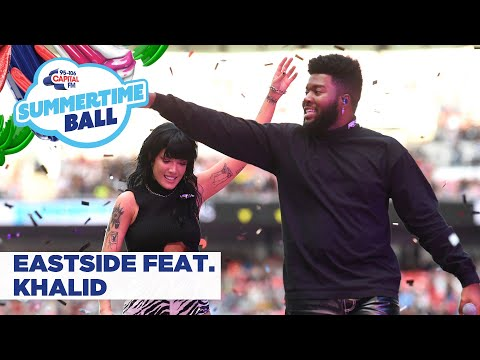 Halsey feat Khalid – 'Eastside'   at Capital's Summertime Ball 2019