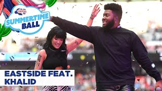 Download Halsey feat. Khalid – 'Eastside' | Live at Capital's Summertime Ball 2019 Mp3 and Videos