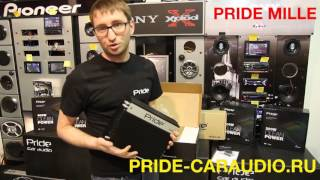 Pride Mille - моноблок(1-канальний підсилювач) 1000 ВТ