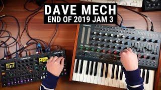 End of 2019 jam #3 | Electronica / Techno with Dominion 1 + Digitakt + Digitone + Xone DB4