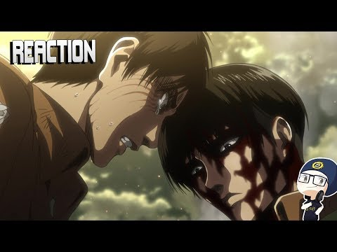 Attack on Titan Season 3 Episode 12 LIVE REACTION
