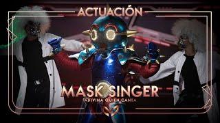 El Robot canta 'Superstar' de Jamelia | Mask Singer: Adivina quién canta