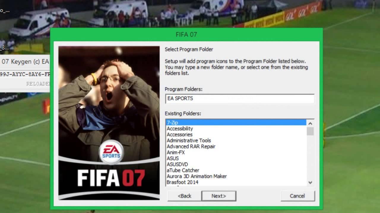 Ea sports fifa 07 registration code pablo andres gonzalez fifa 18