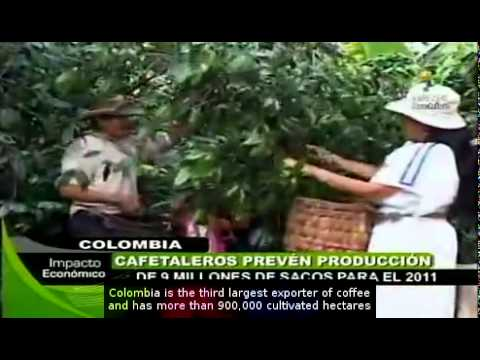 Colombia to increase coffee production