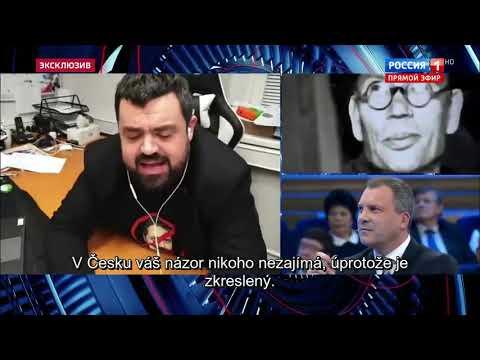 Pavel Novotný Ruská Televize Rusija 1 Pomník Vlasovců V Praze - Titulky CZ Celý Záznam Kompletní