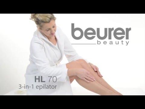 Features of Beurer HL 70 3-in-1 Epilator