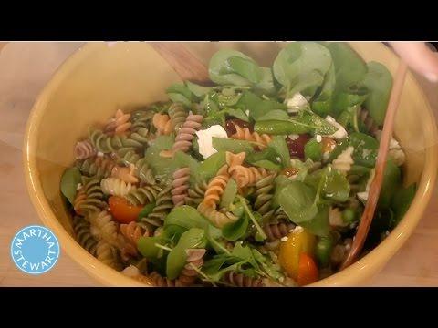 Vegetable Pasta Salad with Lemon Juice - Martha Stewart