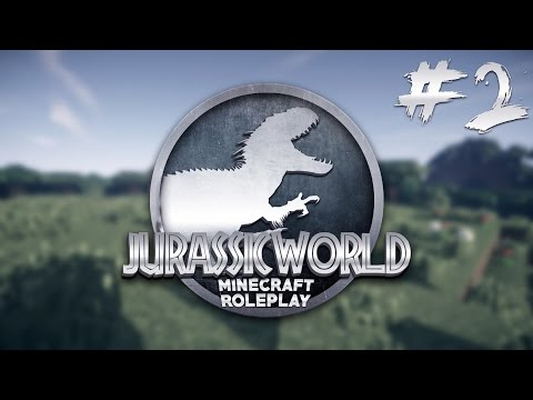 Minecraft Jurassic World - T-REX ATTACK - Ep 2 (Minecraft Roleplay)