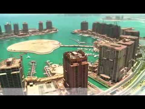 May 2012 - The Pearl-Qatar Aerial Footage