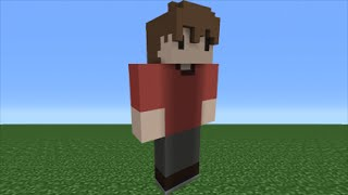 Minecraft Tutorial: How To Make A Grian Statue Youtuber YouTube