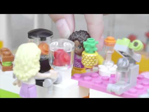 LEGO® Building with Friends - Heartlake Juice Bar Promo