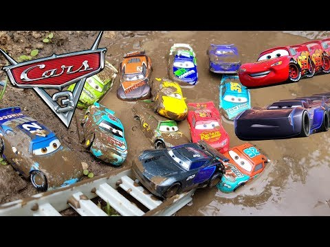 Disney Cars 3 Toys Jackson Storm Dream of Racing with Lightning Mcqueen