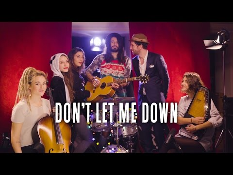 Don't Let Me Down ( The Chainsmokers cover ) // Waxx feat Pomme & Igit & L.E.J