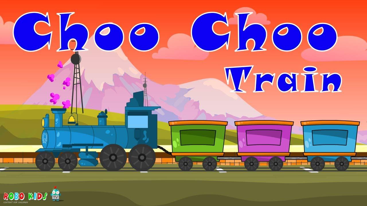 choo choo train choo choo train cartoons for children chu chu