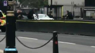 Eerste beelden na crash Brits parlement  - RTL NIEUWS