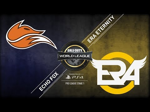 Echo Fox vs eRa Eternity | CWL Pro League | Stage 1 | Week 5 | Day 2