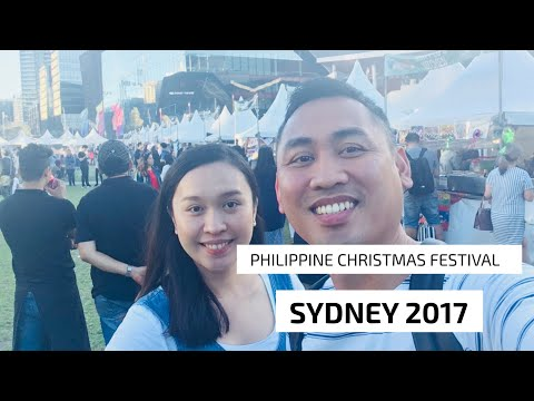 PHILIPPINE CHRISTMAS FESTIVAL SYDNEY 2017 | The Love Vlog Episode 32