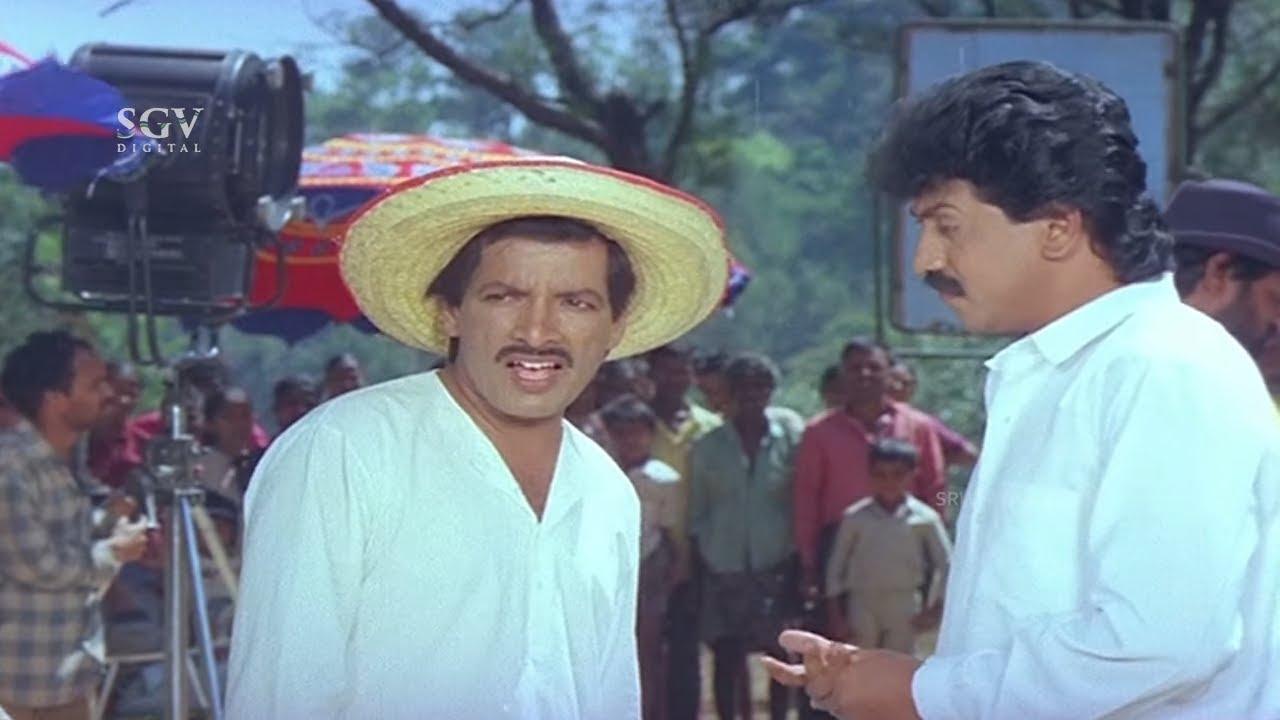 Download Director Kashinath Super Comedy In Movie Set | Shhh Kannada Movie Scene| Kumar Govind