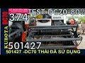 T.TIÊN(501427)Test KUBOTA DC70 hàng nhập khẩu 80% có hải quan-01239000100