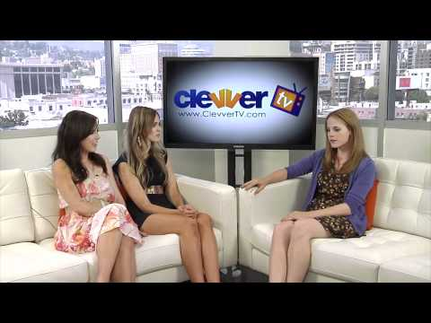 Katie Leclerc of ABC Family's 'Switched At Birth' In Studio