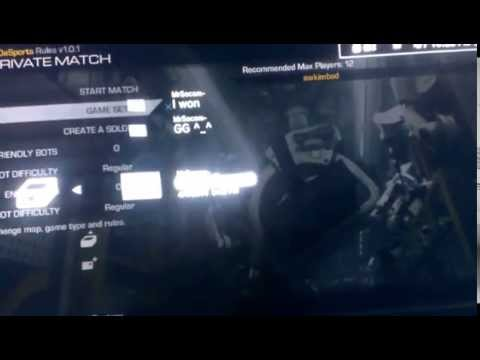 Proof of MrSocom- Deleting Me & Not Playing 3rd Map!