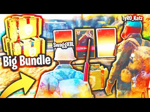 BUYING a SUBSCRIBER the BIG BUNDLE...(Unlocking His FIRST HEROIC WEAPON!) - COD WW2