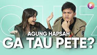 Download Mp3 Fathia Izzati Vs Agung Hapsah - Gagal Fokus! #famousquiz