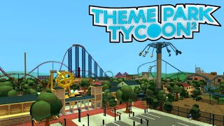 We build a roller COASTER! ROBLOX: Theme Park Tycoon 2 CZ