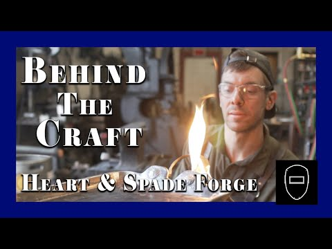 Behind The Craft : Jed Curtis, Heart and Spade Forge