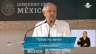El presidente Andrés Manuel López Obrador pidió a los dirigentes del Frente Nacional Anti-AMLO que se queden a dormir en el plantón y no se vayan a hoteles