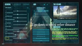 Ark Survival Evolved | How to remove Non-Dedicated Host Tether on Consoles v.509.2