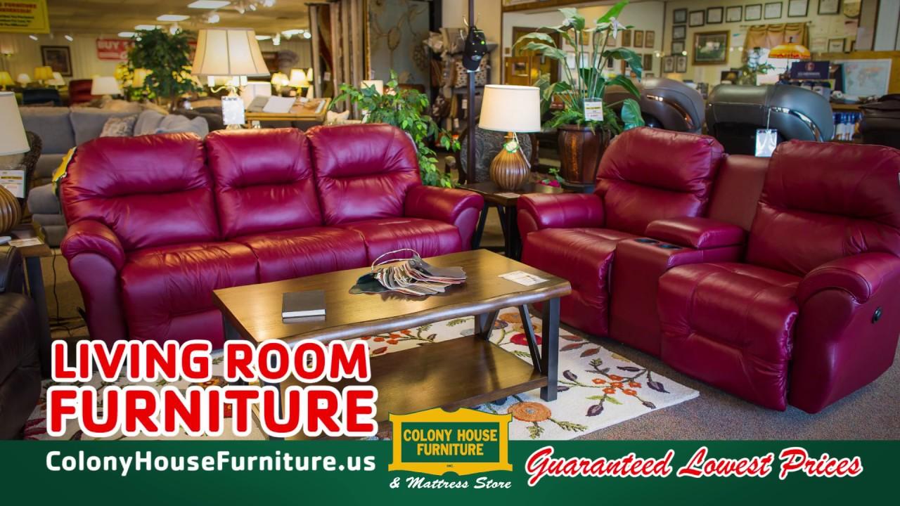 Colony House Furniture Chambersburg Pa Model colony house furniture living room  youtube
