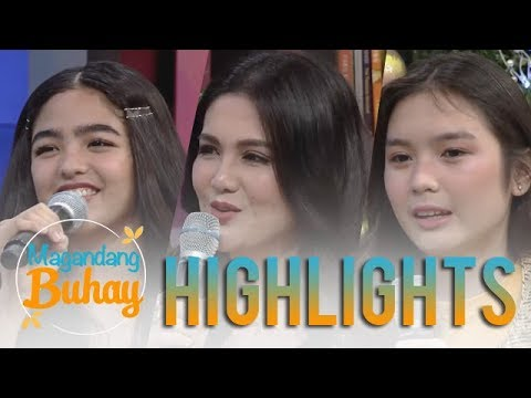 Magandang Buhay: Dimples, Andrea, and Francine are happy to help their families