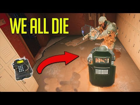 We All Died Making This Thumbnail. [Rainbow Six Siege]