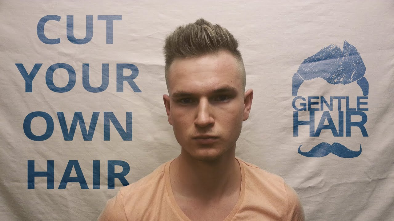 Cut Your Own Hair Mens Short Haircut Disconnected Undercut