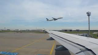 ONBOARD - Lufthansa A320 LH916 Frankfurt to London Heathrow (FULL FLIGHT)