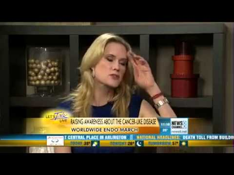Stephanie March discusses EndoMarch with