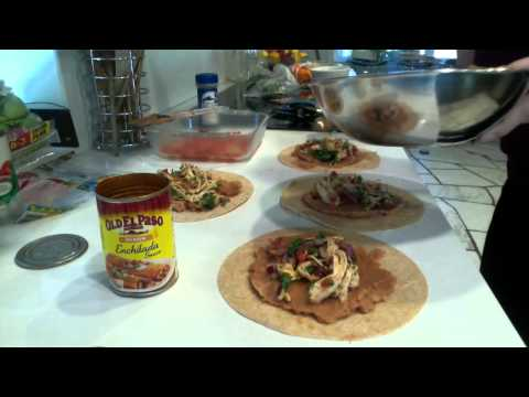 Vid 7. Foods to eat after weight loss surgery: Enchilada recipe