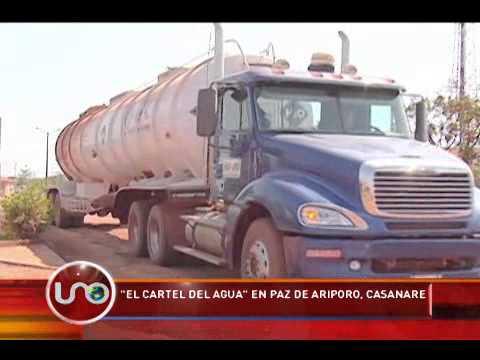 """""""El cartel del agua"""" en Paz de Ariporo, Casanare"""