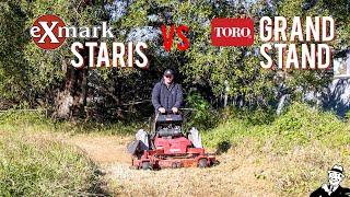 Exmark Staris vs Toro Grandstand - Best Stander 2021