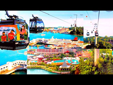 Cable cars Singapore    Cable car ride experience in Singapore  Du lịch Singapore