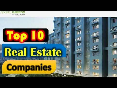 Top 10 Real Estate Companies in India | Top Construction Companies