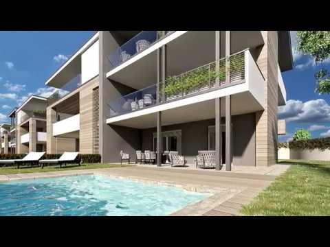 Residenza elisa agrate brianza fabrica real estate youtube for Arredamento monza e brianza