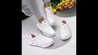 Трендовые модные белые женские кроссовки натуральная кожа с перфорацией Код 9975 9976