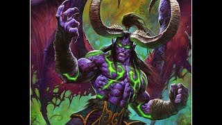 NEW COOL Animation for  Illidan stormrage  Card Intro - Hearthstone