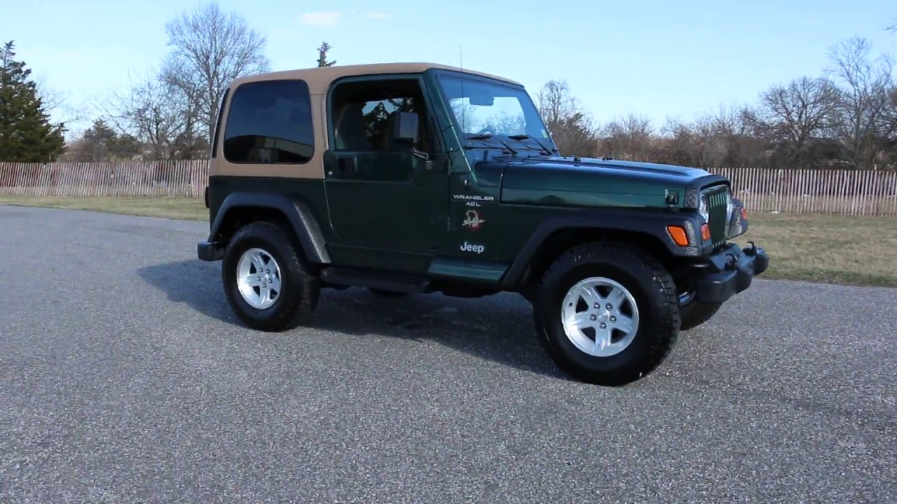 2001 jeep wrangler sahara for sale no rust exceptional. Black Bedroom Furniture Sets. Home Design Ideas
