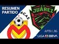 Resumen Y Goles | Morelia Vs Juárez | Jornada 16 - Apertura 2019 | Liga BBVA MX